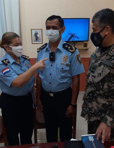 Policía Nacional utilizará cámaras para controlar el cumplimiento de las medidas sanitarias en Cordillera