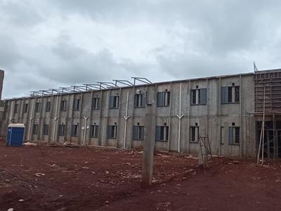 Nueva penitenciaría de Minga Guazú con avance del 63%
