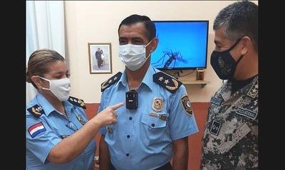 Policías usarán cámaras corporales en Cordillera para filmar a negacionistas del Covid