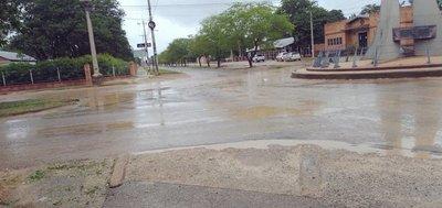 Lluvias inusuales causan inundación en el Chaco Central