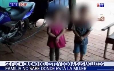 "Familia busca a madre que ""abandonó"" a sus hijos"