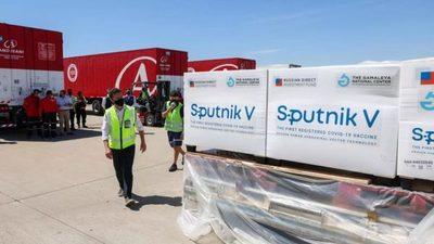 Unas 50.000 dosis de la vacuna Sputnik V podrían llegar a Paraguay en una semana