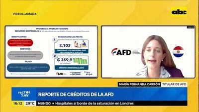 Reportan aumento de demanda de AFD