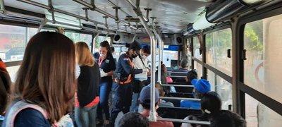 Covid-19: Policía Nacional realiza campaña para promover uso de tapabocas