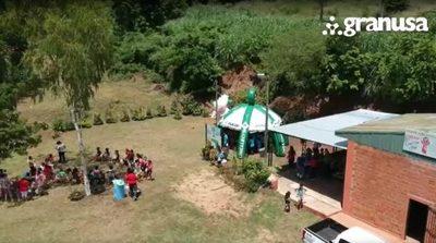 Niños de Ñemby vivieron un día de Reyes especial de la mano de Granusa