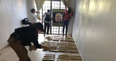 La Nación / Alquilaban departamento para resguardar marihuana en Pedro Juan Caballero