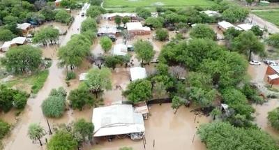 Restringen tránsito de camiones pesados en la Transchaco debido a las inundaciones