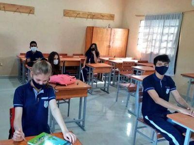 Aseguran  clases presenciales seguras en colegios privados
