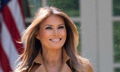 Melania Trump a pocos días de dejar la Casa Blanca