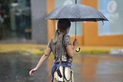 Prevén lluvias y tormentas este fin de semana