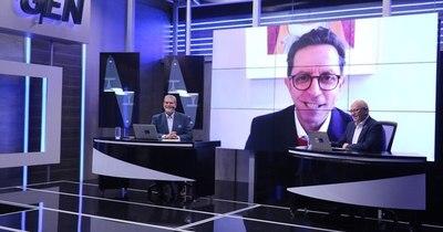 """La Nación / Roberto Izurieta: """"Creo que la democracia de los Estados Unidos quedó fortalecida"""""""