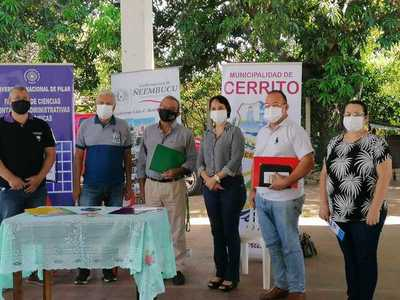 MIC y autoridades de Ñeembucú impulsarán proyecto de asistencia para formalización de Mipymes