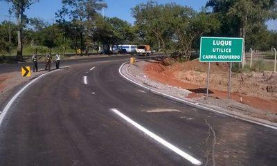 La Autopista Ñu Guasú será clausurada este domingo