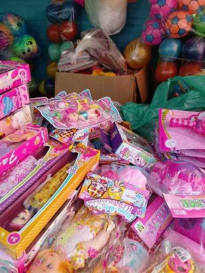 Obsequian juguetes a 500 niños y niñas del Comedor Misionero Róga