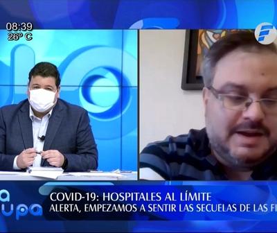 Doctor José Fusillo: ''Hospitales están al límite por Covid-19''