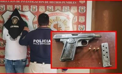 Detienen a hombre que disparó contra el vehículo de su sobrina