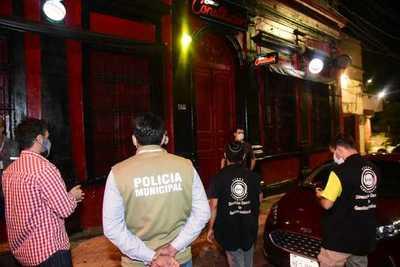 Comuna asuncena refuerza controles en locales nocturnos para cumplimiento de medidas sanitarias
