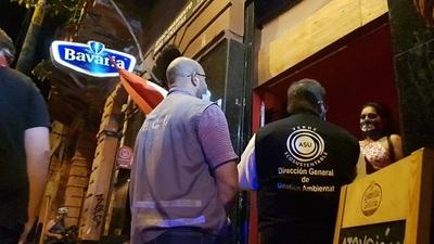 Realizan controles en locales nocturnos tras denuncias de infracciones