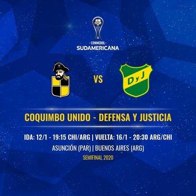 Sudamericana: semifinal será disputada en Asunción