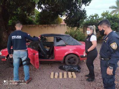 Brasileño con frondosos antecedentes es detenido con droga en Pedro Juan