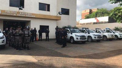 Coronel Oviedo: Policía realiza campaña de concienciación por Covid-19