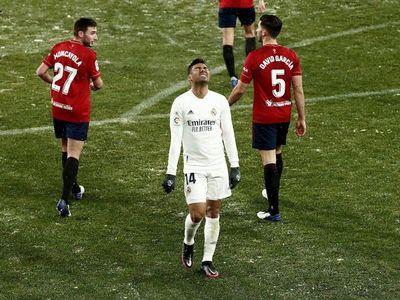 El Real Madrid vuelve a ceder dos puntos