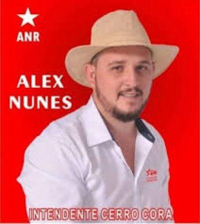 Alex Nunes el pre-candidato que le desquicia a seccionaleros del nuevo distrito de Cerro Cora