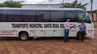 Municipio adquiere transporte propio para el traslado de sus pobladores