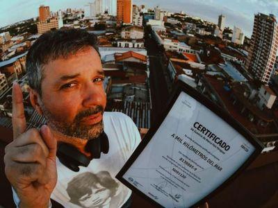 """""""A mil kilómetros del mar sigue para mostrar un Paraguay positivo"""""""