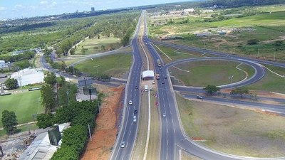 Autopista Ñu Guasú permanecerá clausurada este domingo