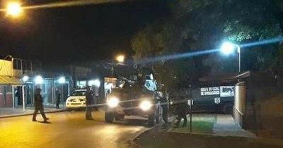 La Nación / Atacaron sede policial de Pedro Juan e intentaron rescatar a miembro del PCC