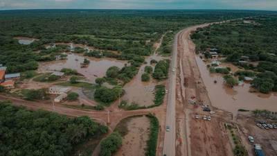 Aproximadamente 700 familias fueron afectadas por las inundaciones en Boquerón