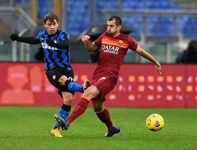 Roma e Inter se neutralizan en la Serie A con una paridad