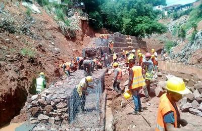 Chacarita: obras en cauce Antequera y Tacuary beneficiarán a 1.000 familias
