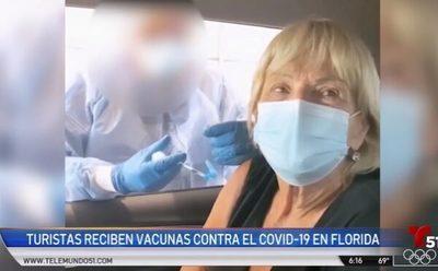 Critican a argentinos que viajan a vacunarse en Estados Unidos