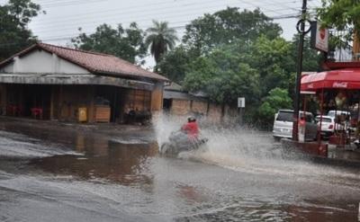 Emiten alerta de lluvias para 11 departamentos