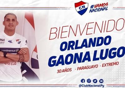 Orlando Gaona Lugo se viste de Tricolor