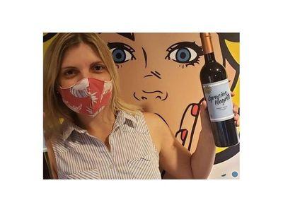 Gracias Negrito, un vino para apoyar a Cavani