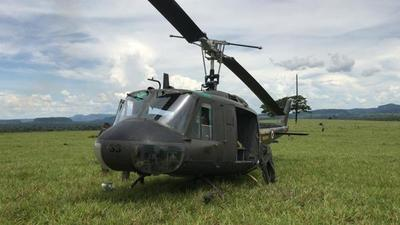 Helicóptero causa gran susto
