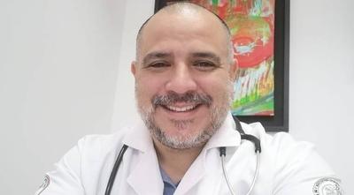 HOY / El doctor Carlos Morínigo se suma a la lista de contagiados del COVID-19