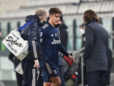 """Pirlo: """"Dybala tiene un trauma por contusión en el ligamento colateral"""""""