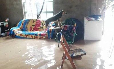 Crónica / Pobladores de Boquerón quedaron bajo las aguas