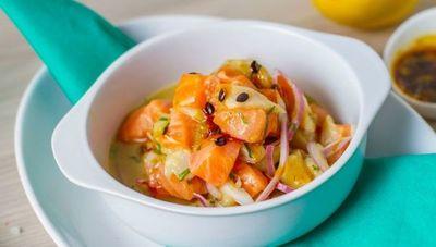 Disfrutá de los deliciosos platos de La Cevichería y de Sushi Pop en SanBer
