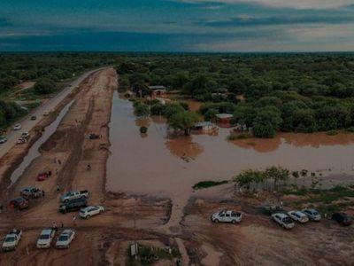 Tramo de ruta Transchaco se rehabilitó tras las lluvias