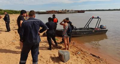 Adolescente desaparece en aguas del río Paraguay