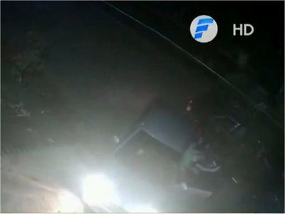 Llegó a su casa, fue interceptado y le robaron el auto en Lambaré