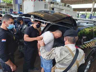 Expulsan del país a peligroso líder del PCC detenido el sábado en Pedro Juan Caballero