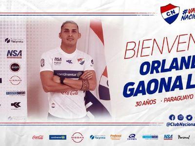 Orlando Gaona Lugo, segundo refuerzo de Nacional