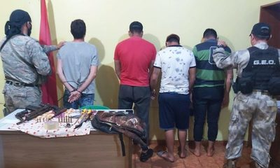 Desbaratan banda delictiva que preparaba asaltos en locales bancarios de la zona – Diario TNPRESS