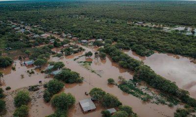 Crítica situación del Chaco por inundaciones a causa de intensas lluvias